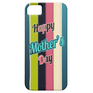 Retro Stripes Mother s Day iPhone 5 Case