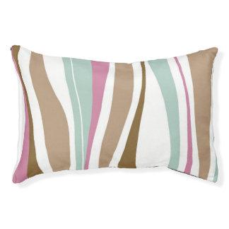 Retro Stripes Pet Bed