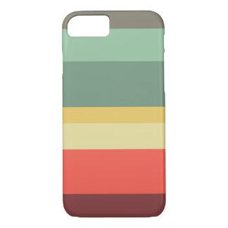 Retro stripes phone case