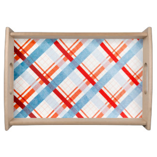 Retro Stripes Serving Tray
