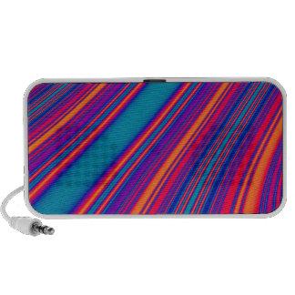 Retro Stripes Laptop Speakers