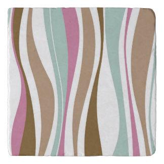 Retro Stripes Trivet