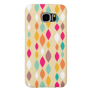 Retro style abstract pattern samsung galaxy s6 cases