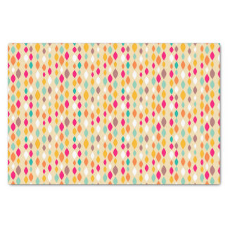 Retro style abstract pattern tissue paper