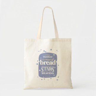 Retro-style bread quote bag