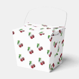 Retro Style Cherries Candy Box