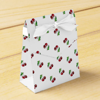 Retro Style Cherries Candy Box