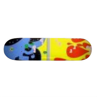 retro style deck skateboard deck