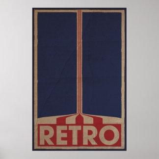 Retro Style Design Poster