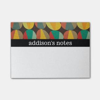 Retro Style Post-it Notes