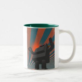 Retro Style Robot 4 Mug