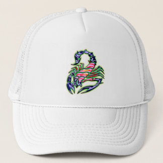 RETRO STYLE SCORPION TRUCKER HAT