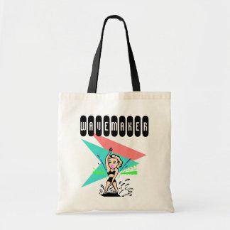 Retro Style WaveMaker Trendsetter Tote bags