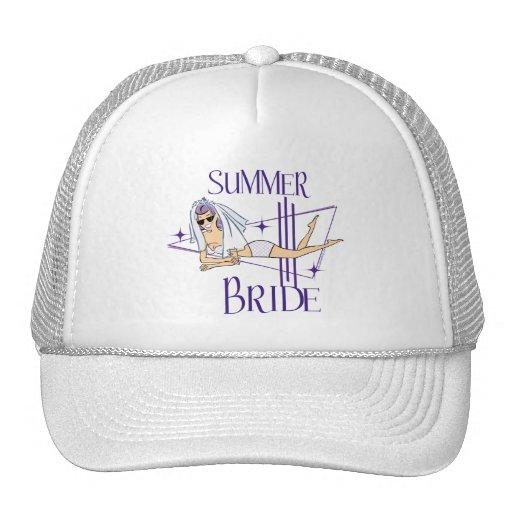 Retro Summer Bride Gifts Hat