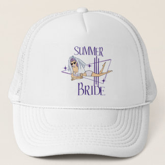 Retro Summer Bride Gifts Trucker Hat