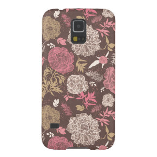 Retro Summer Floral Pattern Samsung Galaxy S5 Case
