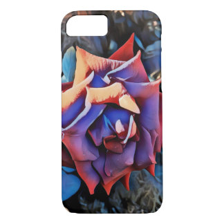 Retro summer rose iPhone 8/7 case