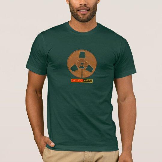 Retro Super 8 Movie Film T-Shirt