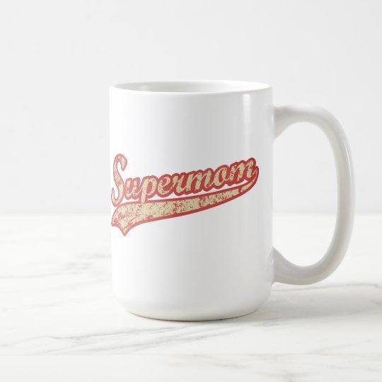 Retro Supermom Classic Mug