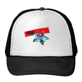 Retro Superstar In Day-Glo Mesh Hat