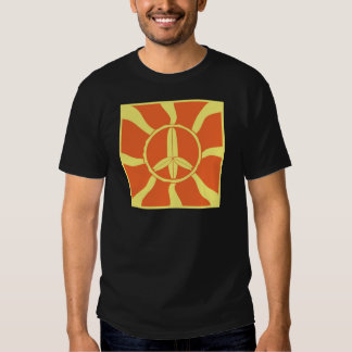 Retro Surfboard Peace Sign Shirt