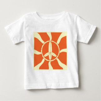 Retro Surfboard Peace Sign T-shirt