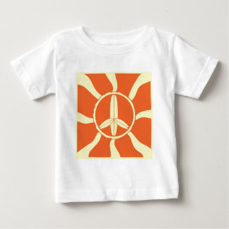 Retro Surfboard Peace Sign Tshirts
