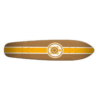 Retro Surfboard Skateboard Deck