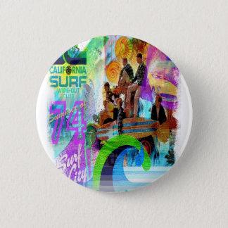 Retro Surfing Badge