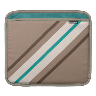Retro Surfing Stripes Pattern Sleeve For iPads