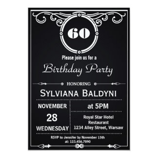 RETRO SURPRISE BIRTHDAY PARTY INVITATION