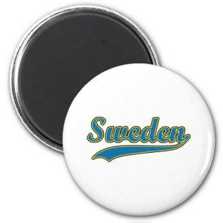 Retro Sweden Magnets