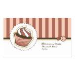 Retro Sweet Cupcake Bakery Business Card