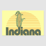 Retro Sweet Home Indiana Stickers