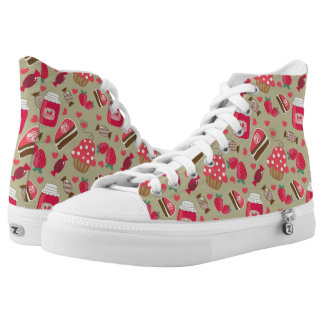 Retro Sweets High Tops