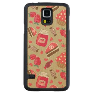 Retro Sweets Maple Galaxy S5 Slim Case