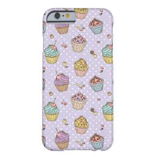 Retro Sweets Pattern Barely There iPhone 6 Case