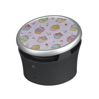 Retro Sweets Pattern Bluetooth Speaker
