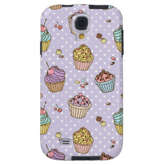 Retro Sweets Pattern Galaxy S4 Case