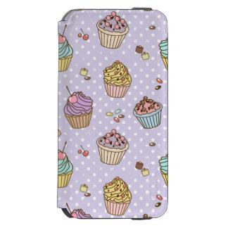 Retro Sweets Pattern Incipio Watson™ iPhone 6 Wallet Case
