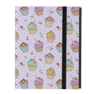 Retro Sweets Pattern iPad Cover