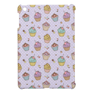 Retro Sweets Pattern iPad Mini Case