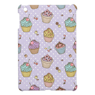 Retro Sweets Pattern iPad Mini Covers
