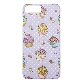 Retro Sweets Pattern iPhone 8 Plus/7 Plus Case