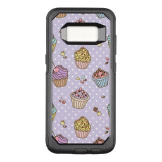 Retro Sweets Pattern OtterBox Commuter Samsung Galaxy S8 Case