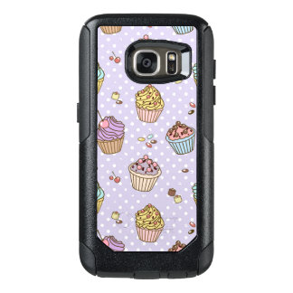 Retro Sweets Pattern OtterBox Samsung Galaxy S7 Case