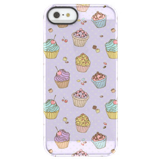 Retro Sweets Pattern Permafrost® iPhone SE/5/5s Case