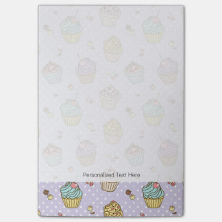 Retro Sweets Pattern Post-it Notes