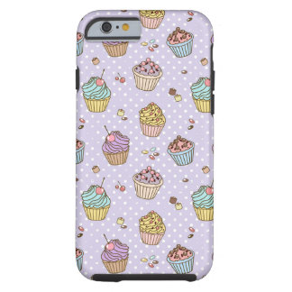 Retro Sweets Pattern Tough iPhone 6 Case
