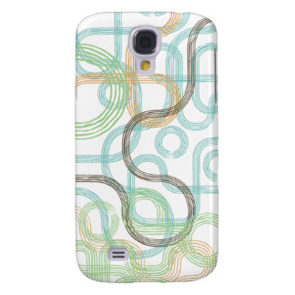Retro Swirls Galaxy S4 Case